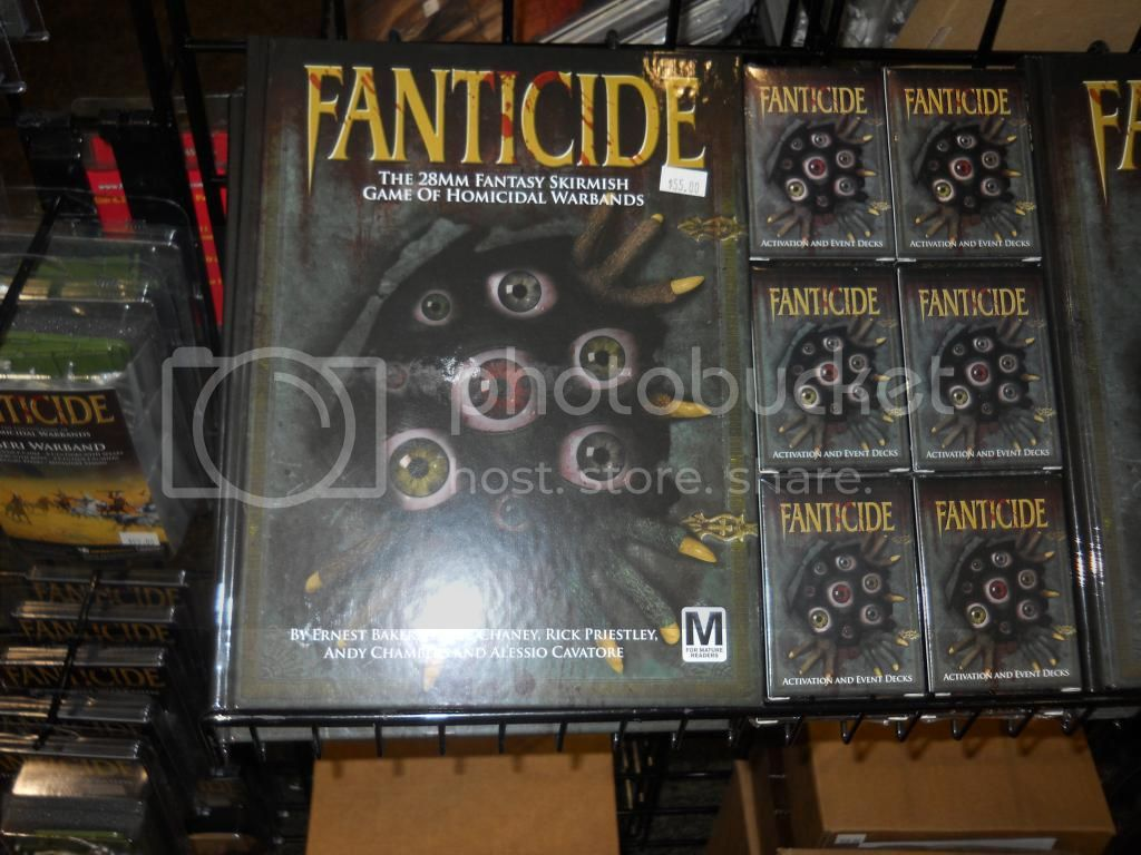 Fantacide on the Shelf at last
